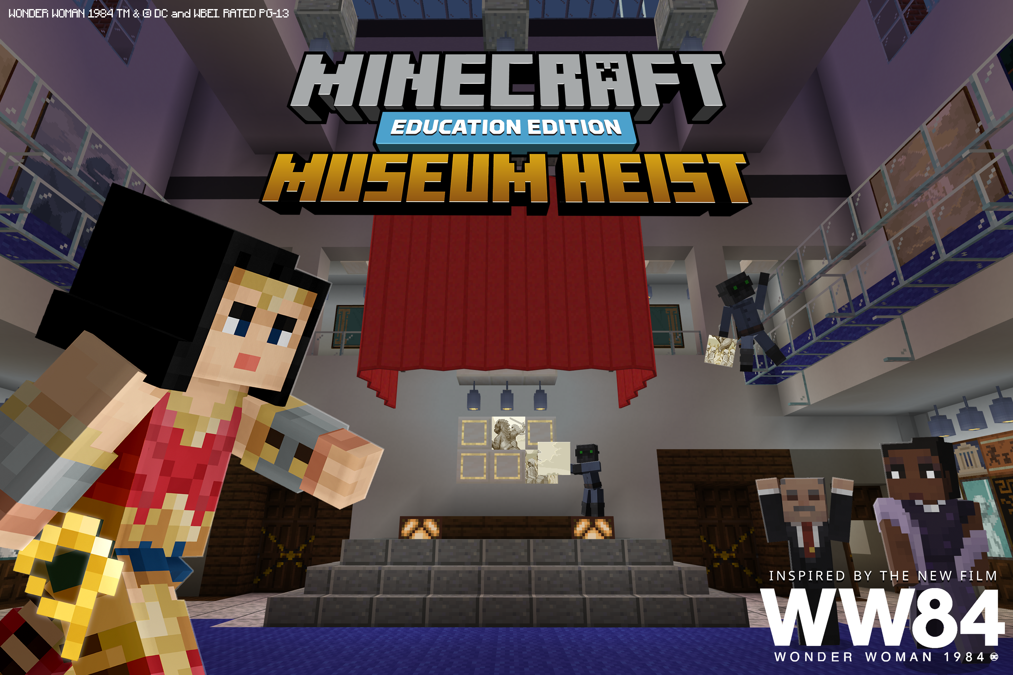 Museum Heist Minecraft Education Edition Great Warrior Learn Computer Science Game Design