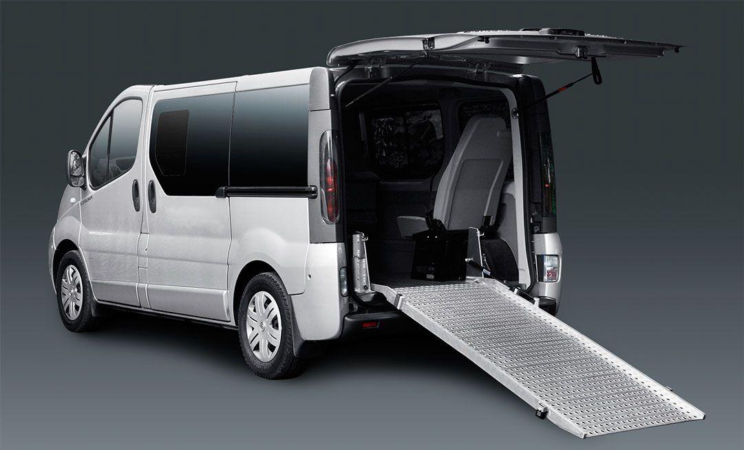 Van with Ramp Wheelchair accessible vans, Accessible van