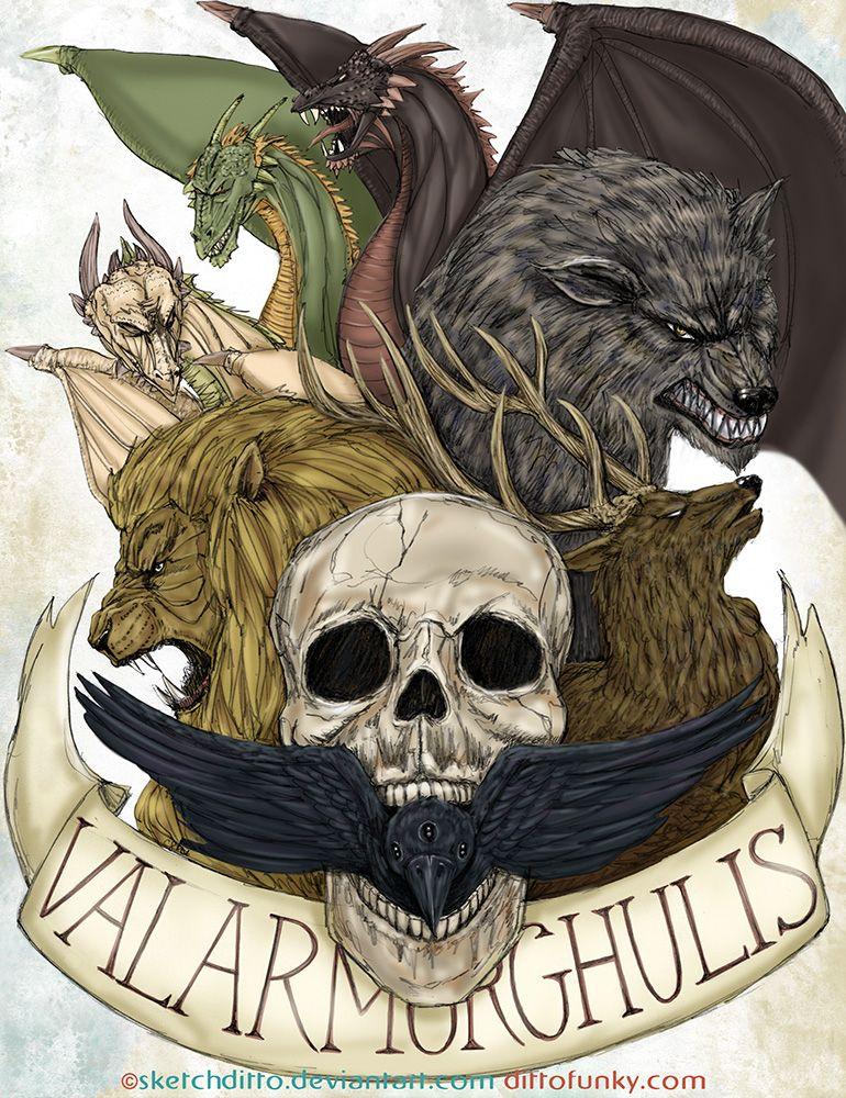 Valar Morghulis by sketchditto.deviantart.com on @deviantART