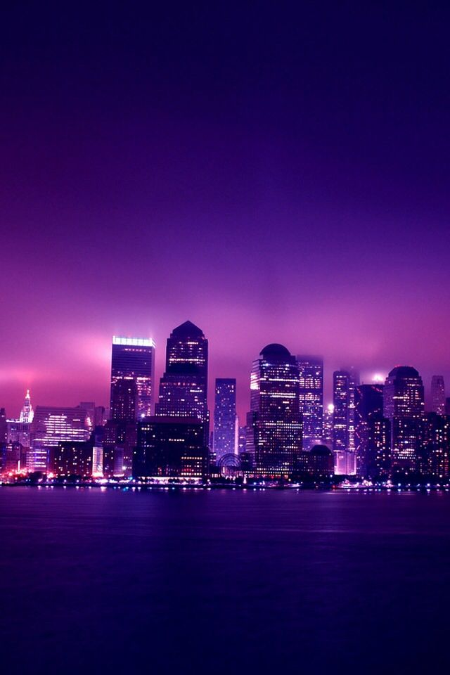 Purple City Purple Wallpaper Iphone Dark Purple Aesthetic Purple Wallpaper Dark purple aesthetic wallpaper city