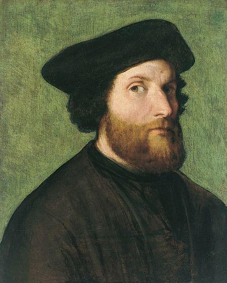 Mace Tyrell  twofacedmirror:    Lorenzo Lotto, undated  (Italian, 1480-1556)  bio