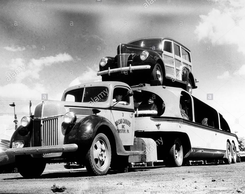 Pin by Mike Chase on Woodies Trucks, Car carrier, Big trucks