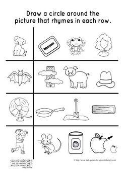 Rhyming Games Worksheets Phonemic Awareness Kwon Pediatric Dentistry Dacula Flowerybranch Ga Www Rhyming Activities Phonemic Awareness Rhymes Free rhyming worksheets for first grade