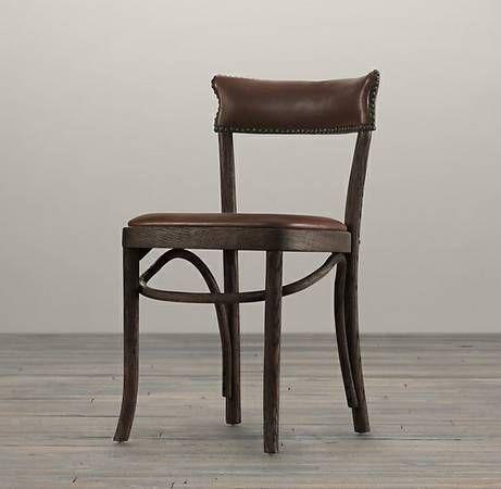 Craigslist 100 Restoration Hardware Vienna Cafe Side Chair Leather Side Chair Vienna Cafe Craftsman Dining Room