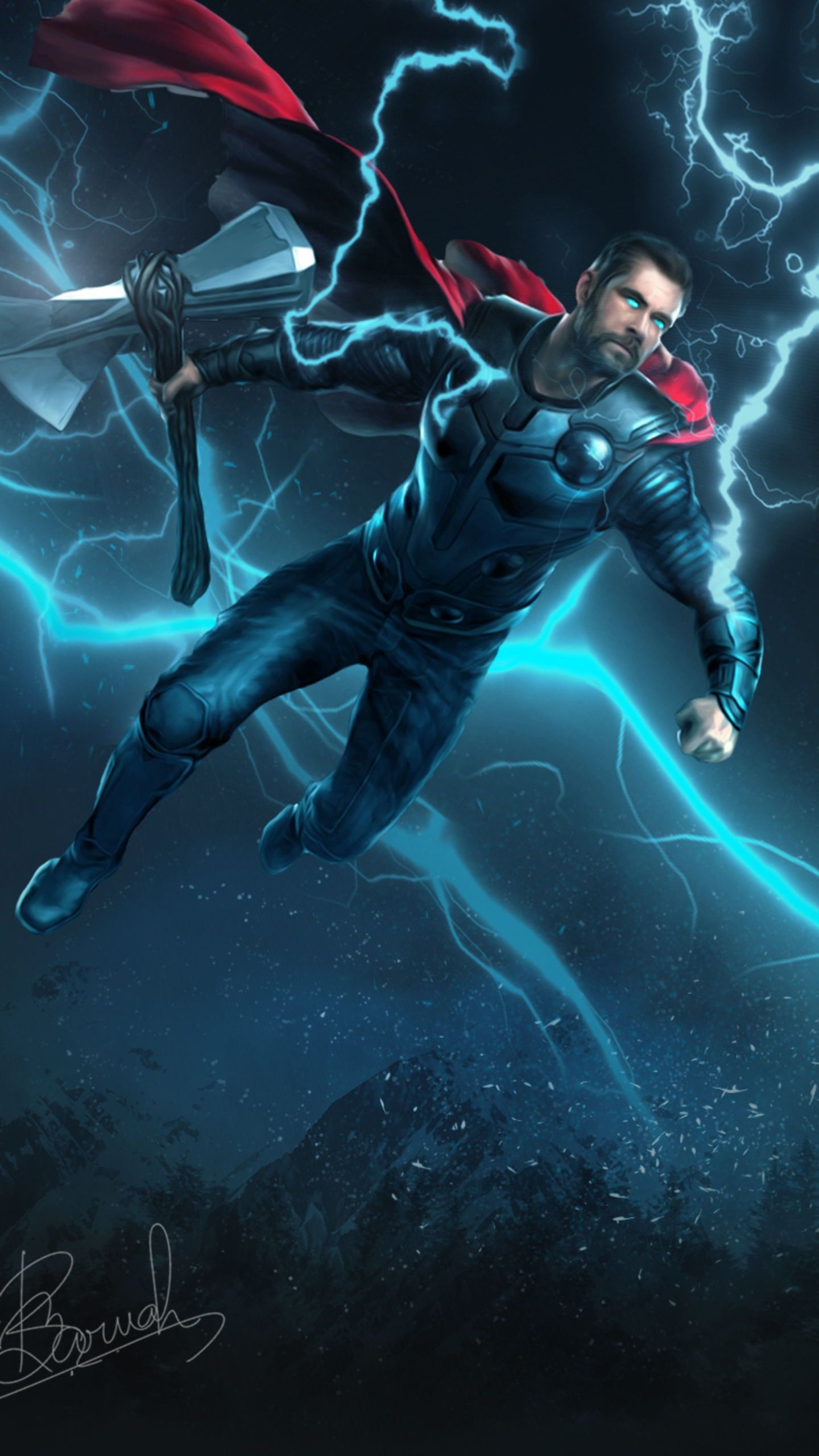 Thor quiz are you worthy enough to pass thor quiz - Thor art wallpaper ...