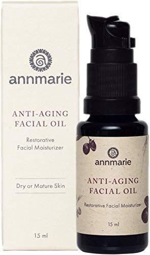 Best Seller Annmarie Skin Care Anti-Aging Facial Oil - Moisturizing Face Oil For Dry Mature Skin Jojoba Oil, Goji Berries + Chia Seed Oil (15ml / 0.5 fl oz) online #jojobaoil