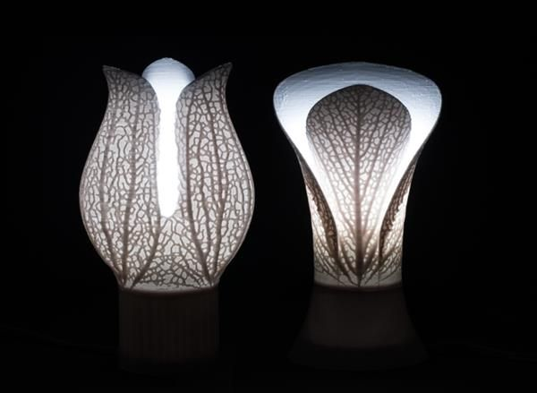 Hyphae Lamps 3d Printed Bio Inspiration 3d Printing Lamp 3d Lamp