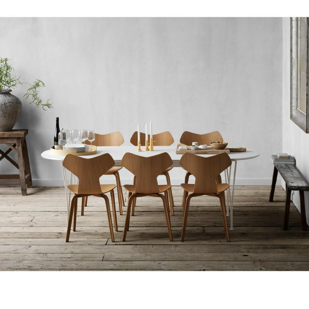 Grand Prix Chair Wood Legs With