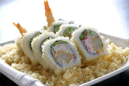 omnomnom crunchy shrimp roll