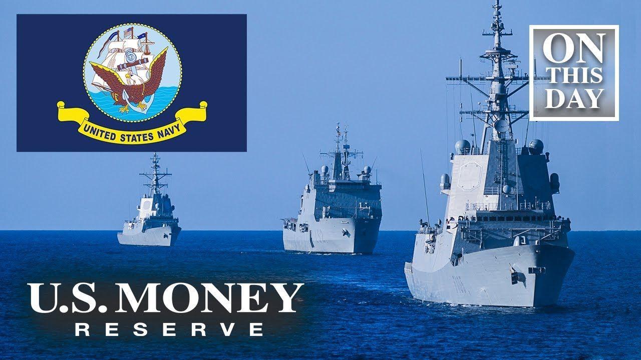October 27th Navy Day U S Money Reserve Navy Day Day Navy