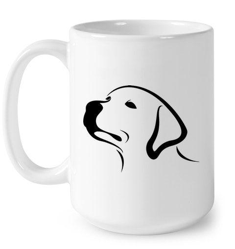 Labrador Retriever Coffee Mugs Yellow Lab Mug Black Golden