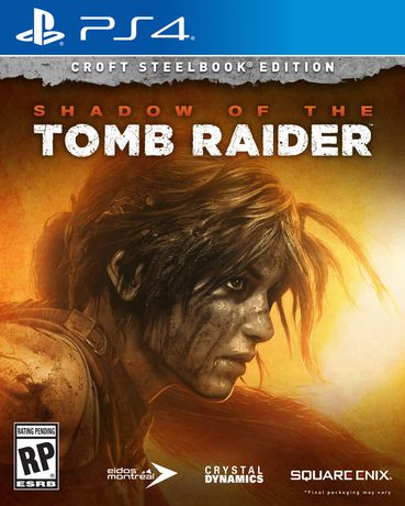 Square Enix Shadow Of The Tomb Raider (Croft Edition) (Ps4