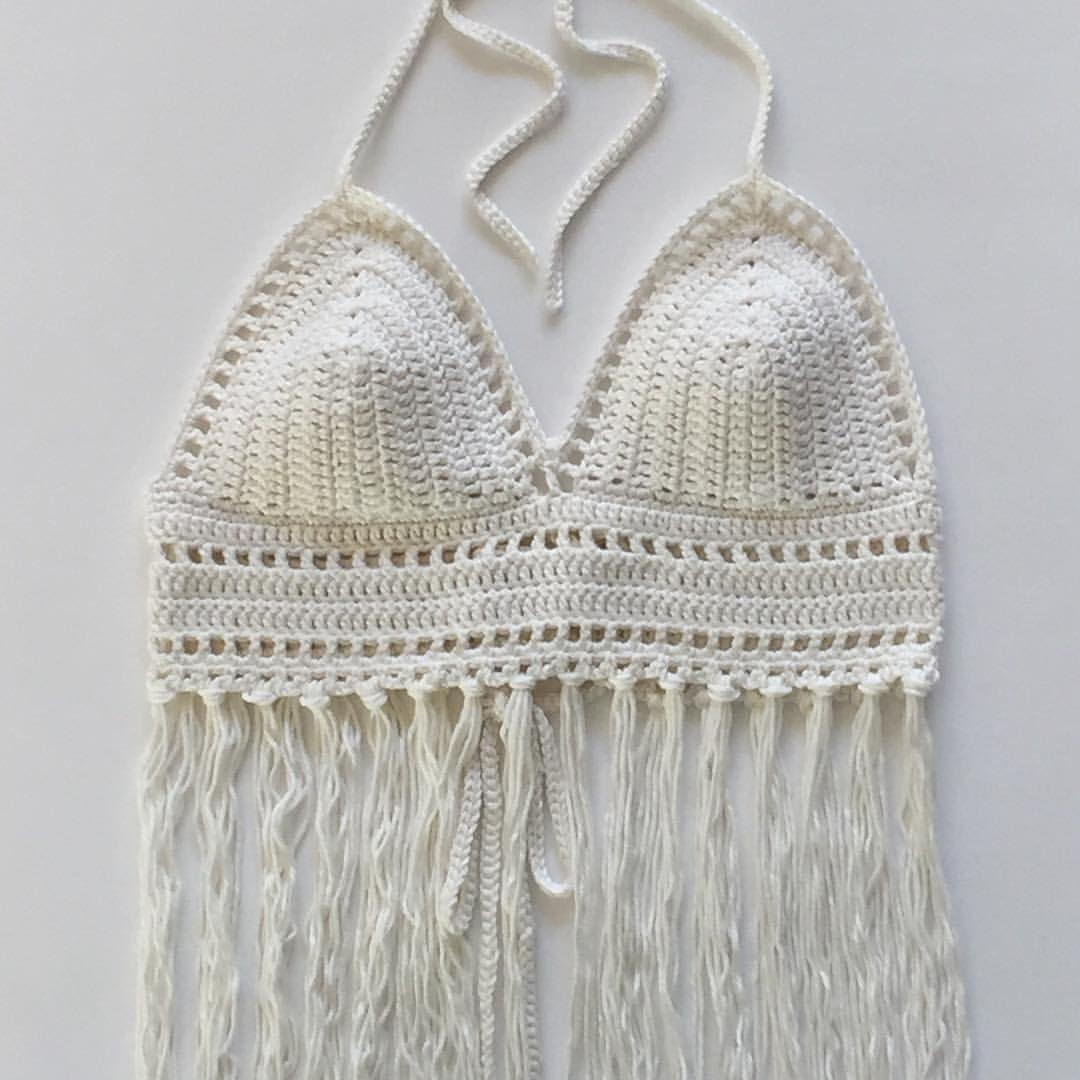 New halter top pattern. #crochet #deboraholearypatterns #yarn ...
