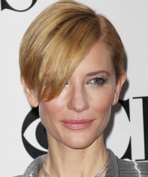 Cate Blanchett Short Straight Formal Hairstyle Coupe
