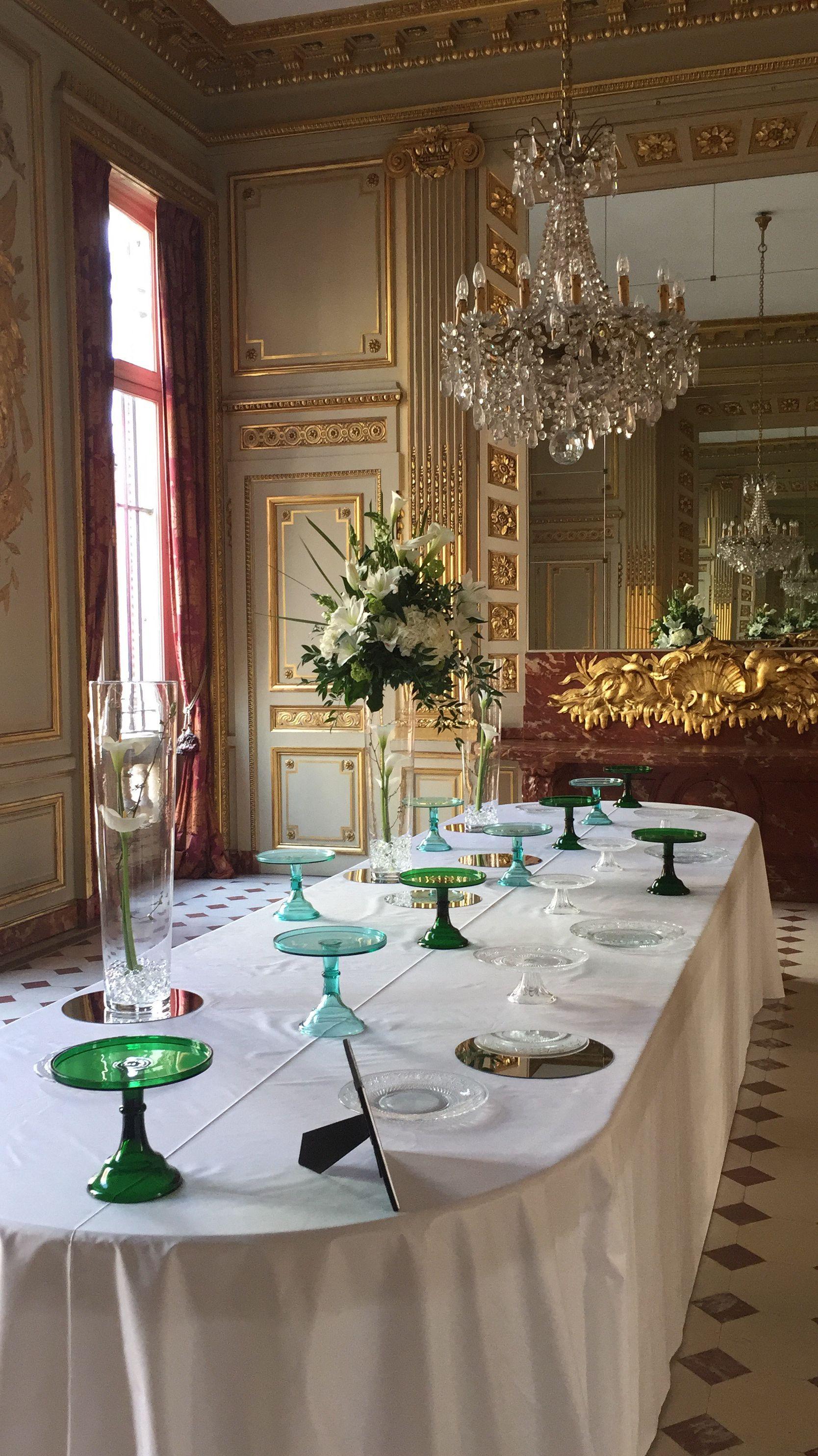 Cocktail décoration Fleur du Jour  l Ambassade du Brésil  Paris