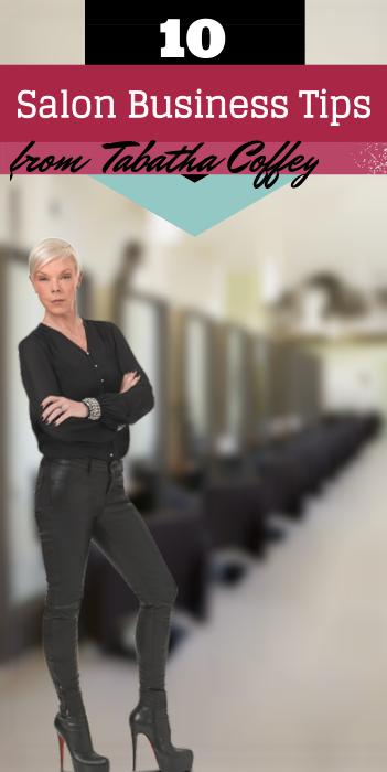 10 Salon Business Tips From Tabatha Coffey Hair salon