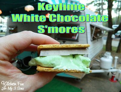 Key Lime White Chocolate S'mores & Other Camping Food Ideas!