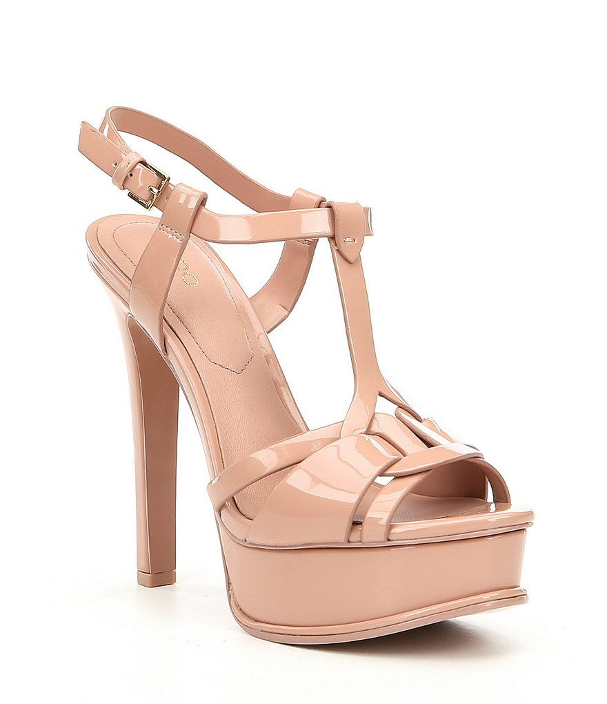 8263cfbbbb4 Light Pink ALDO Chelly Platform Dress Sandals