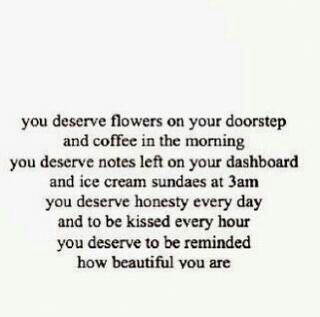 You deserve all the best!
