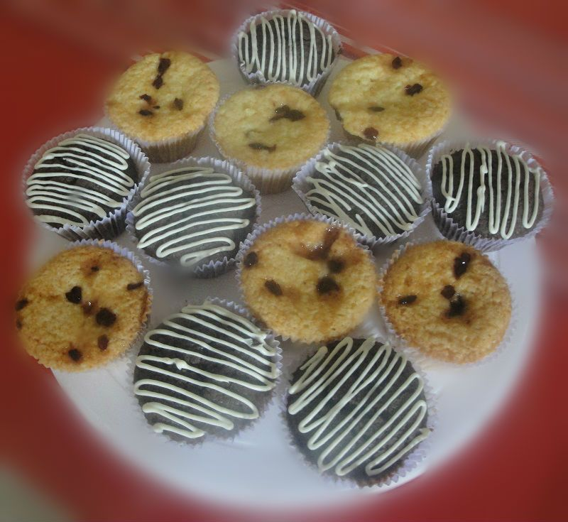 #Muffins - Tea time D'lites (Blueberry & Chocolate)