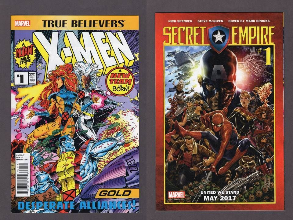 True Believers X Men Gold 1 Marvel Comics 2017 Classic Reprint Vf Nm Comics For Sale Marvel Comics