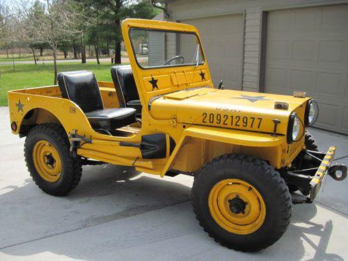 Craig Strub Willys Jeep Vintage Jeep Jeep Cj