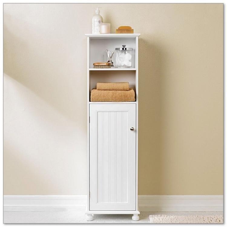 Best Bathroom Storage Cabinets Ideas For You Small Bathroom Cabinets Narrow Bathroom Storage Bathroom Wall Storage
