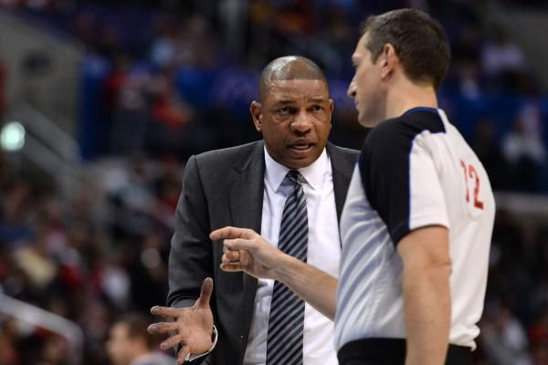 Nba Notebook Los Angeles Clippers Coach Doc Rivers Stripped Of Front Office Duties Los Angeles Clippers Doc Rivers Basketball Game Tickets