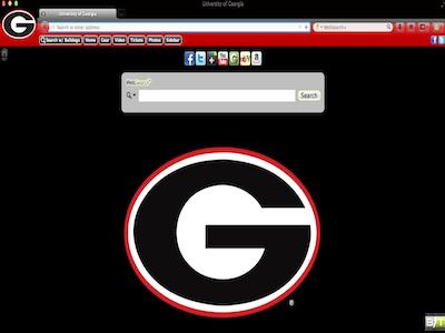 University Of Georgia Browser Theme For Google Chrome Mozilla Firefox Internet Explorer And Apple Safari The OFFICIAL Athletics