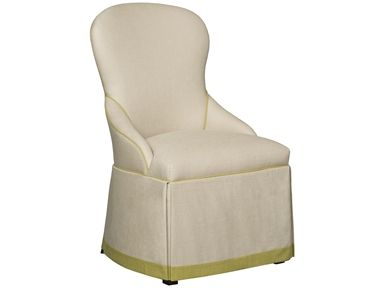 Shop for Vanguard Carswell Chair, V284-CH, and other Dining Room Chairs at Vanguard Furniture in Conover, NC. Fabric Only.