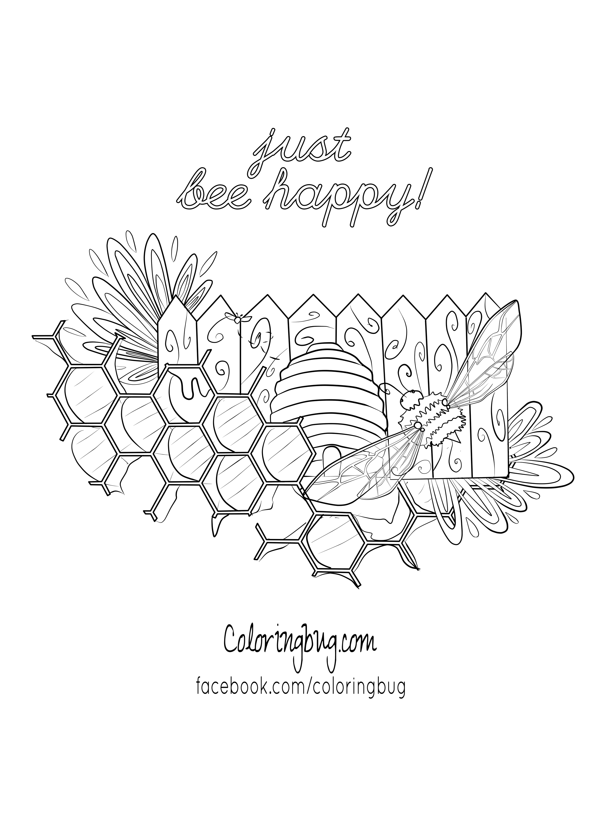 bumblebee coloring page bzzzzz campton a pinterest