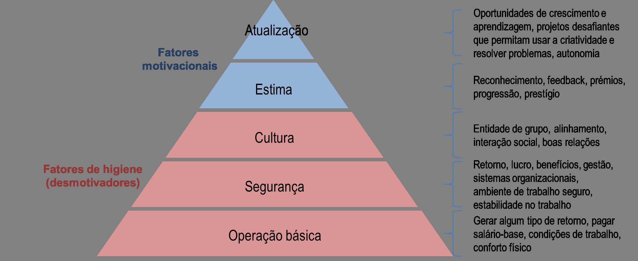 Piramide Maslow Organizações