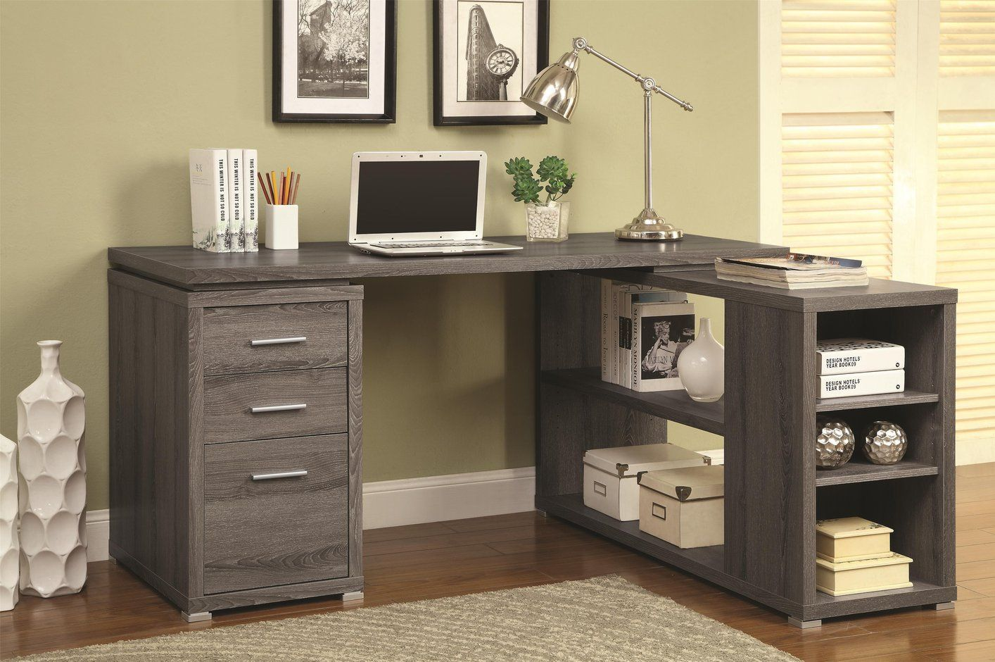 Wood Office Desks Home Furniture Images Check More At Http Michael