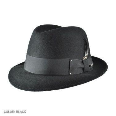 f25c9ffb98f Classic 1940 s Gangster Mafia Al Capone New York Felt Fedora Style Hat  (Amazon)