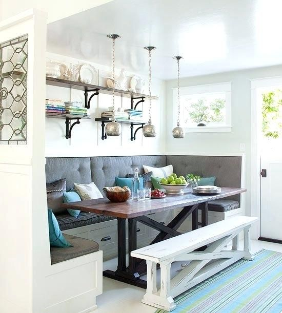 kitchen booths bult n dnng ths s beautful t easly pn lghts ...