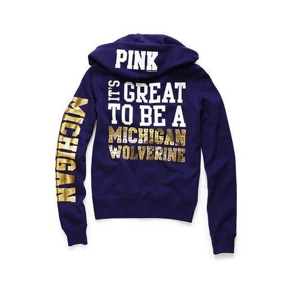 Michigan Wolverines Women/'s NCAA The Journey Burnout Pullover Hooded Sweatshirt