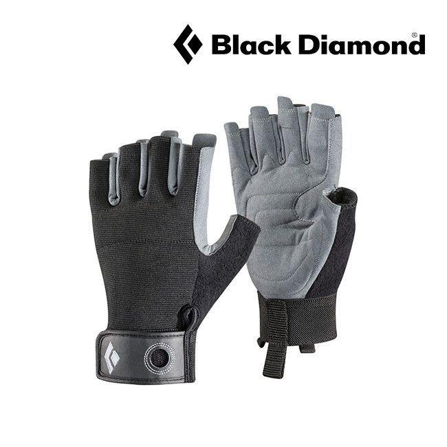 Black Diamond Crag Half-Finger Gloves - Black