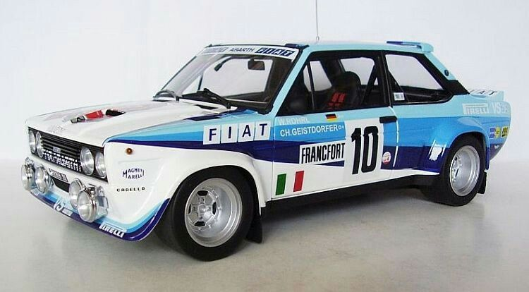 Fiat 131 Abarth 1980 With Images Monte Carlo Rally
