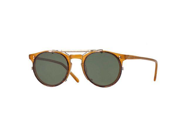 da568aea04 Oliver Peoples Sir O'Malley 45 Flip-Clip Sunglasses Vestimentas, Gafas De  Sol
