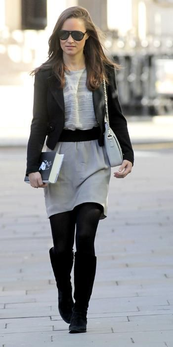 Pippa Middleton's Memorable Style Moments - October 4, 2012 from #InStyle