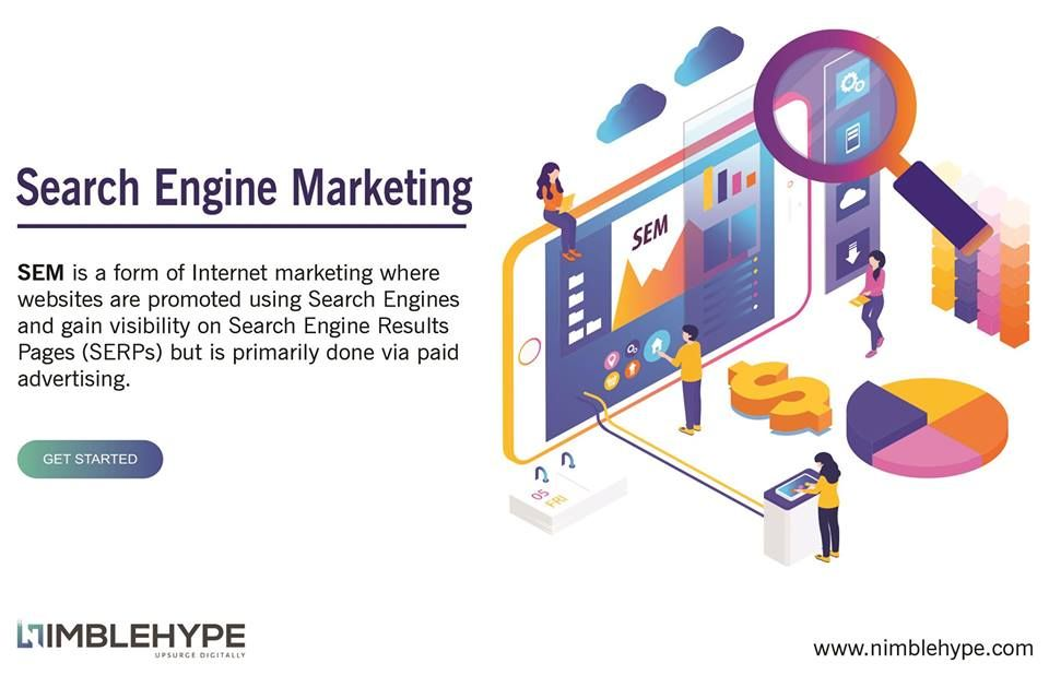 Pin by Nimble Hype on Services Search engine marketing sem