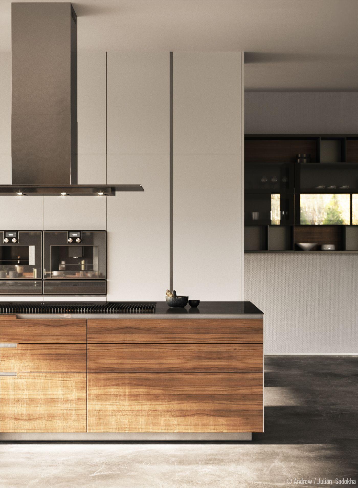 Poliform Varenna Kitchen On Behance Kitchen Interior Design Modern Scandinavian Kitchen Design Minimal Kitchen Design