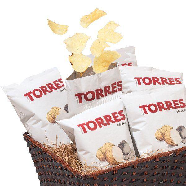 Chelsea Market Torres Black Truffle Chip Basket Chelsea Market