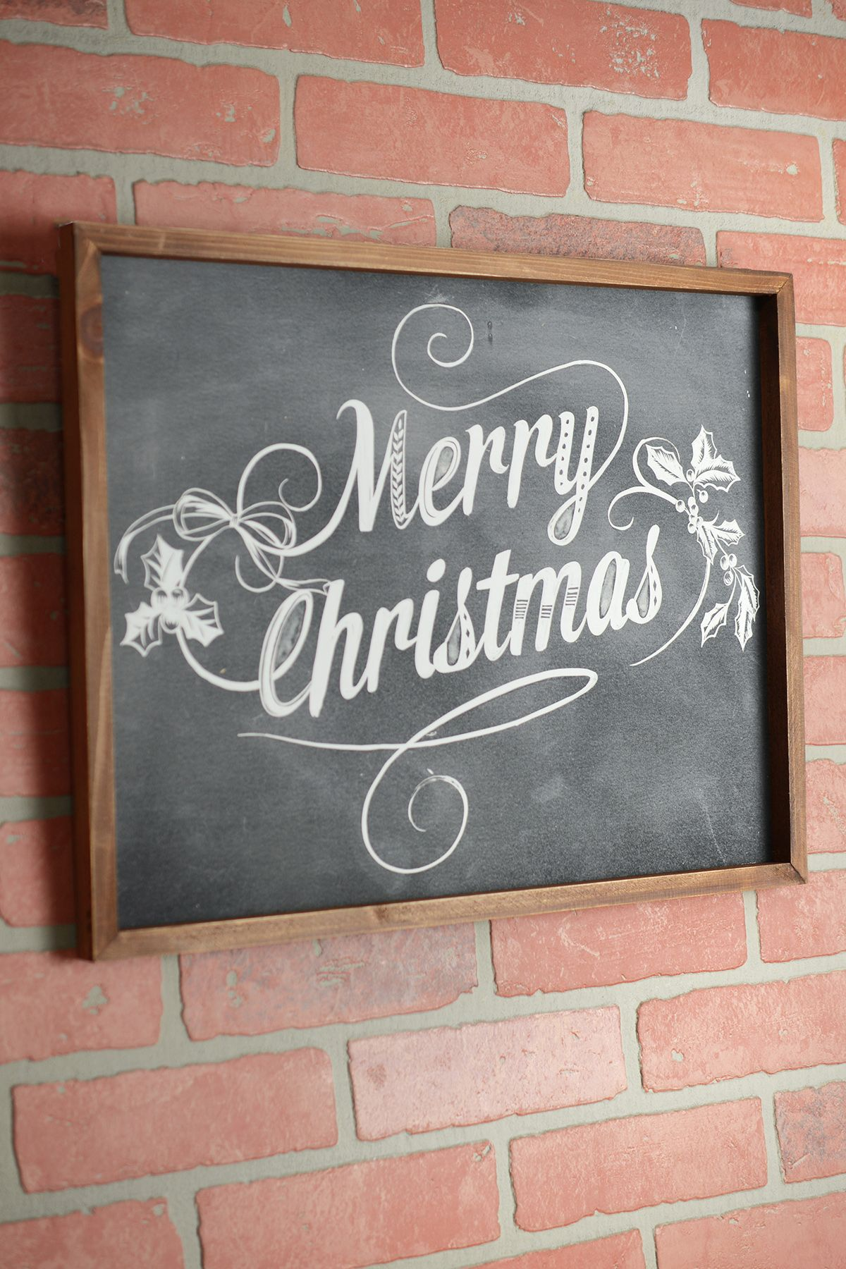 merry christmas  get that rustic christmas vibe with this
