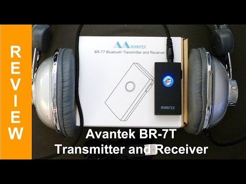 Avantek BR-T7 bluetooth transmitter and receiver review -  Best sound on Amazon: http://www.amazon.com/dp/B015MQEF2K - http://gadgets.tronnixx.com/uncategorized/avantek-br-t7-bluetooth-transmitter-and-receiver-review/