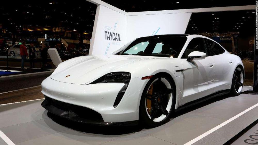 Porsche S All Electric Taycan Is Its Best Selling Non Suv In America Porsche Taycan Porsche Suv Porsche