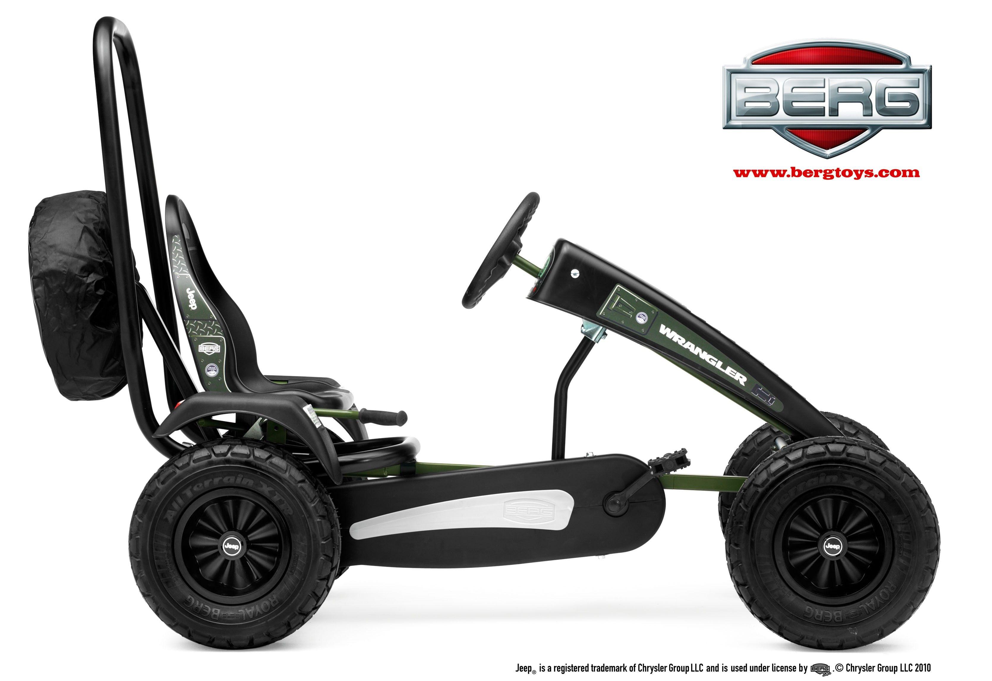 Berg Jeep Pedal Go Kart My ride Pinterest
