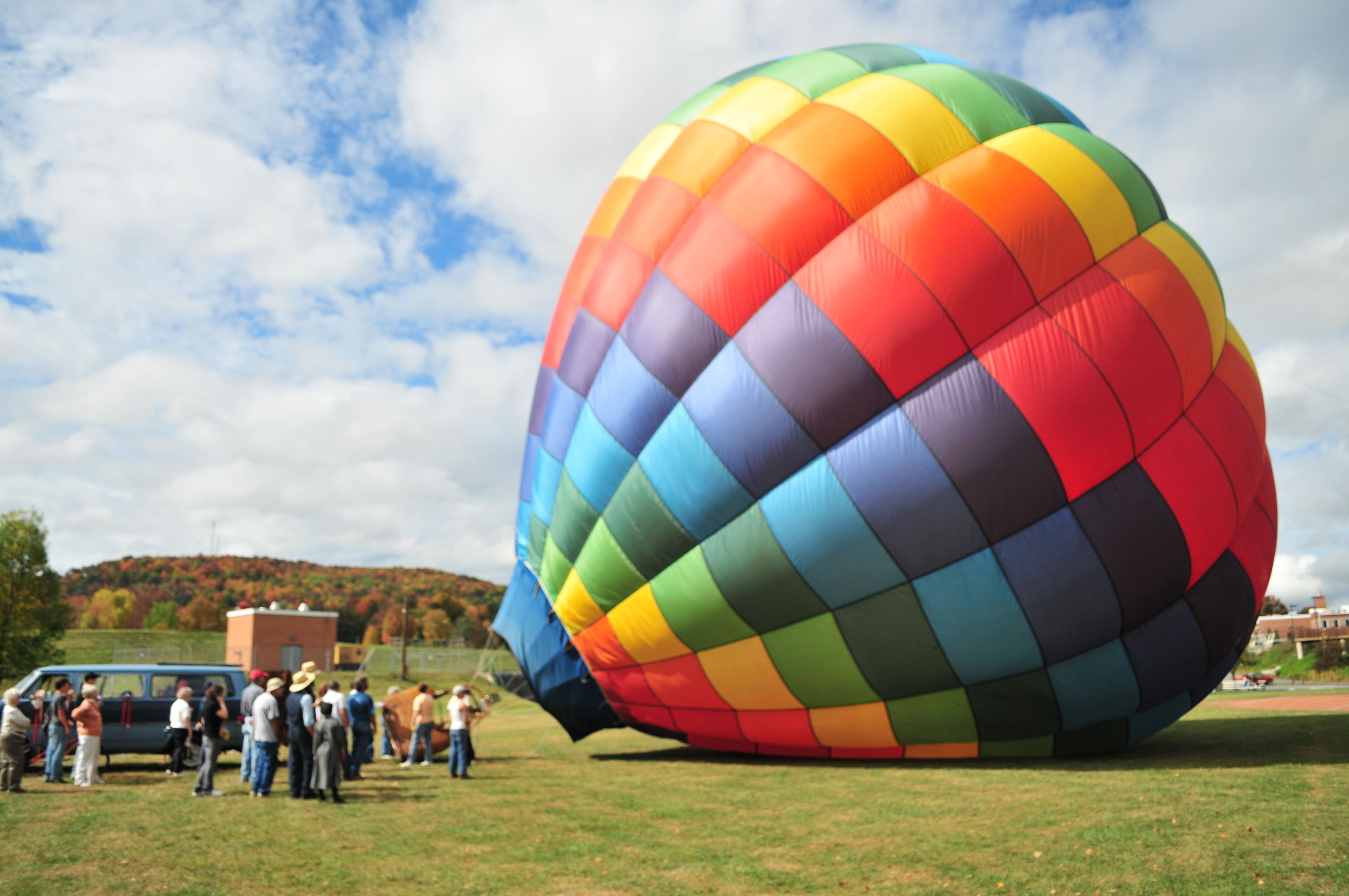 Hot Air Balloon rides are offered each year, weather