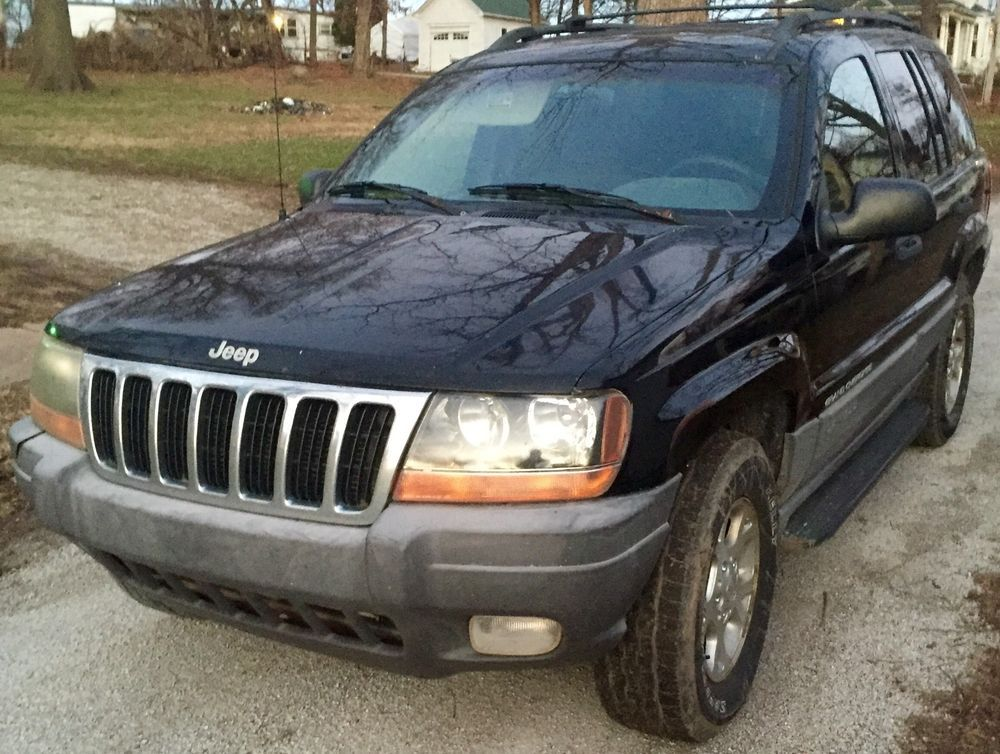 1999 2004 Jeep Grand Cherokee Black Front Driver Left Door Laredo Limited Oem Jeep Jeep Grand Jeep Grand Cherokee