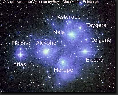 [Names of the Pleiades]